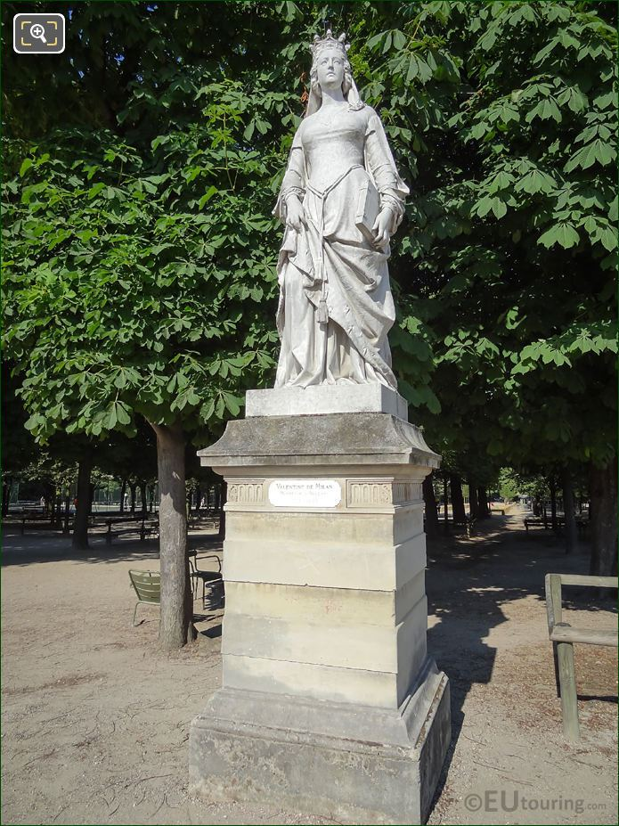 Duchess Of Orleans Statue Jardin Du Luxembourg