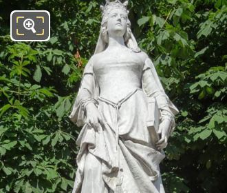 1846 Valentine De Milan Statue By V Huguenin