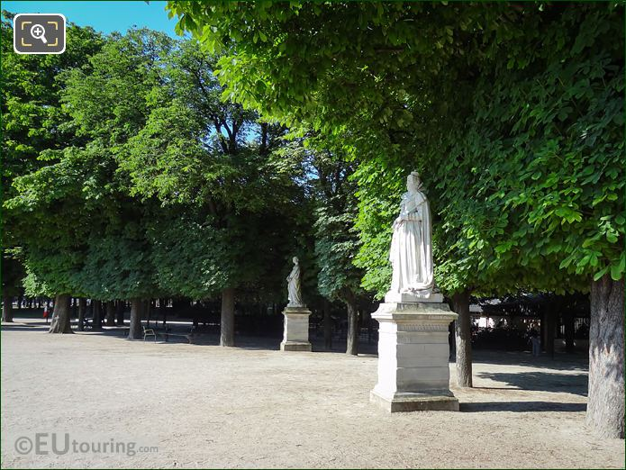Luxembourg Gardens Statue Marie De Medicis