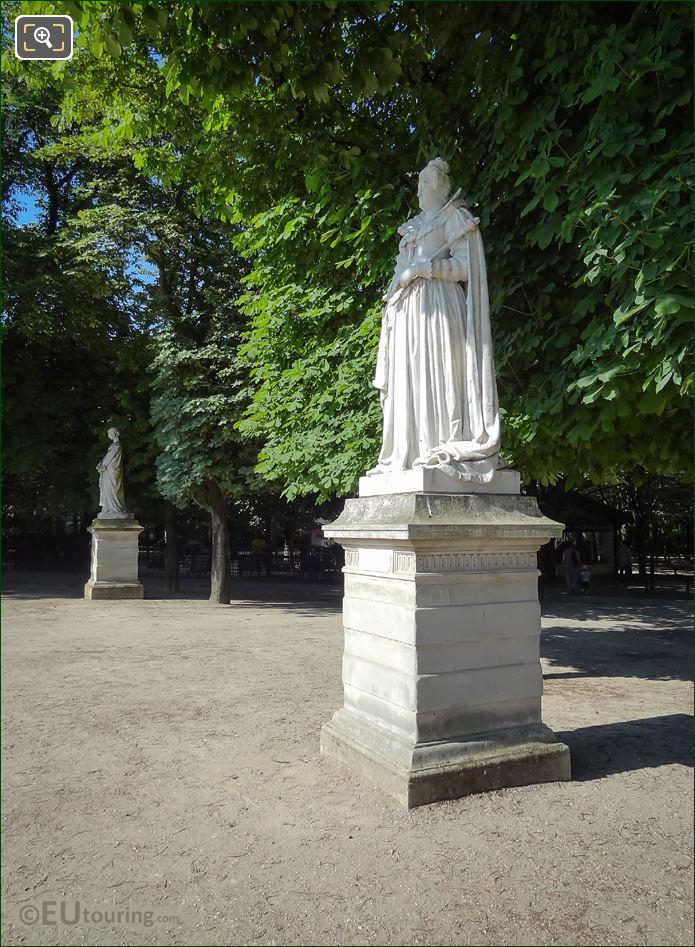 Marie De Medicis Statue Jardin Du Luxembourg