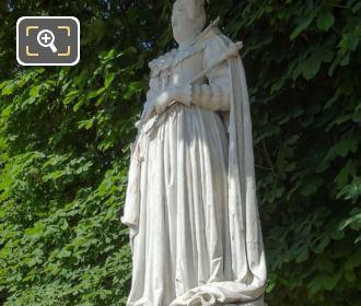 Statue Marie De Medicis In Paris