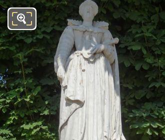 Marie De Medicis Statue By L Caillouette