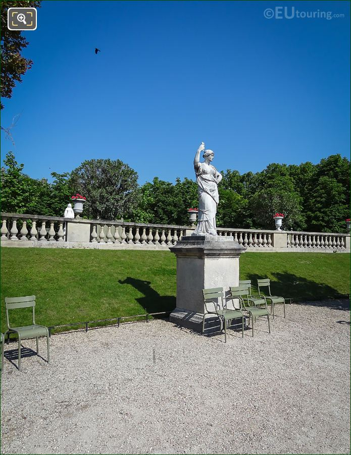 Junon, Reine Du Ciel Statue d'Apres l'Antique
