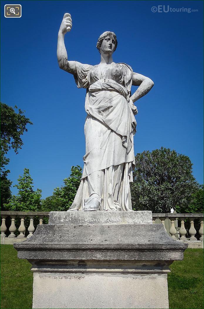 Marble Statue Junon, Reine Du Ciel