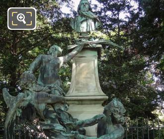 Eugene Delacroix Monument Luxembourg Gardens