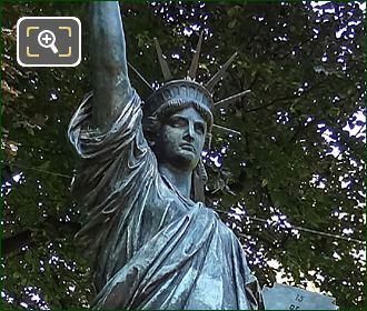 Replica Bronze Statue Of Liberty By Auguste Bartholdi