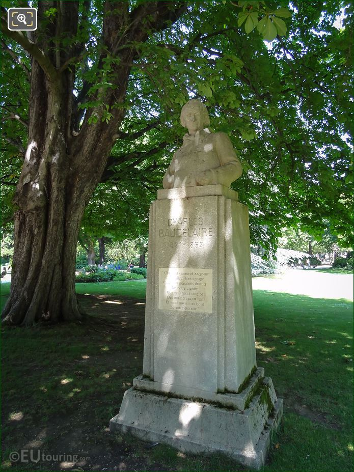 Charles Baudelaire Monument By Fix-Masseau