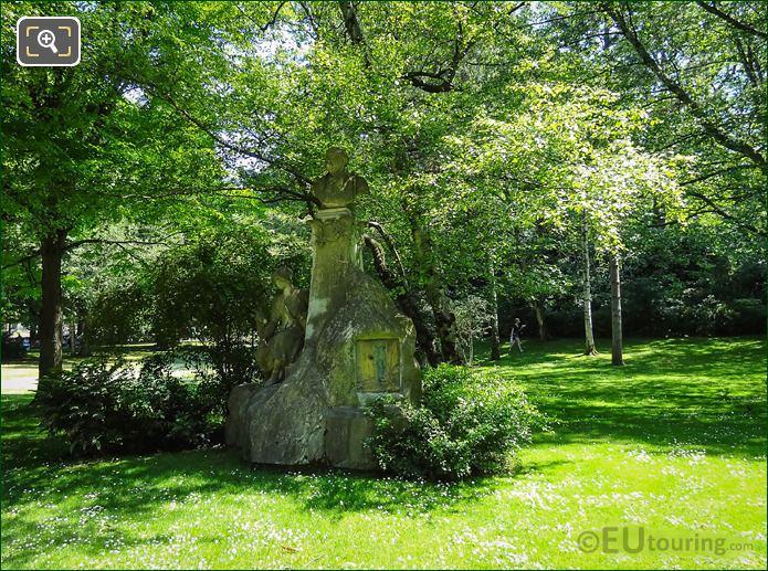 Luxembourg Gardens Ferdinand Fabre Monument