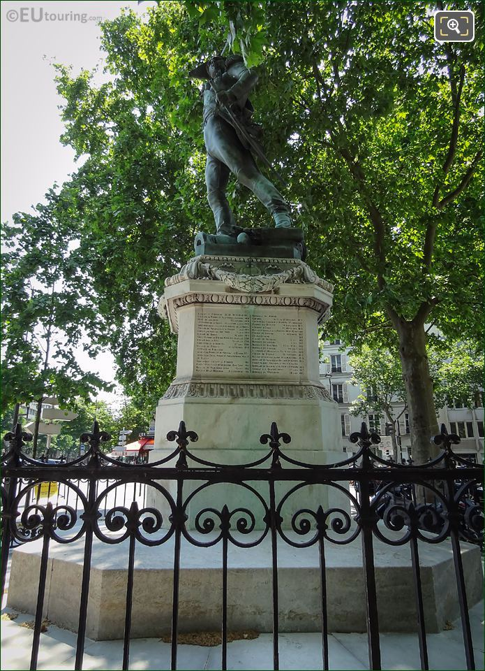 Monument To Marechal Ney