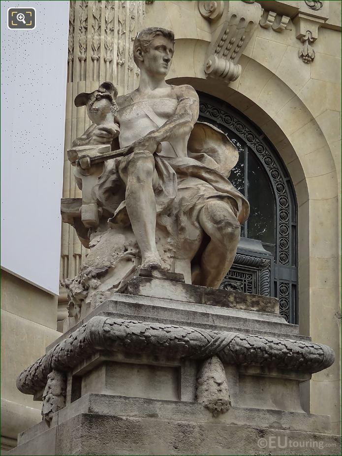 l'Art Industriel Statue By Jacques Villeneuve