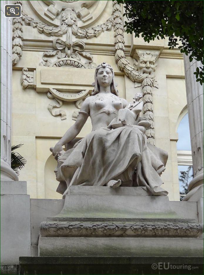 L'Art Egyptien Statue Grand Palais Paris