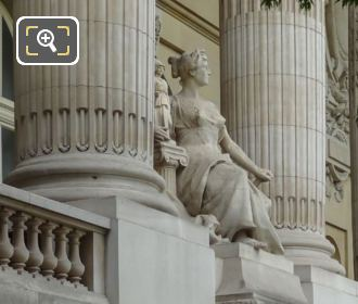 Stone Statue Art Of Greece Grand Palais