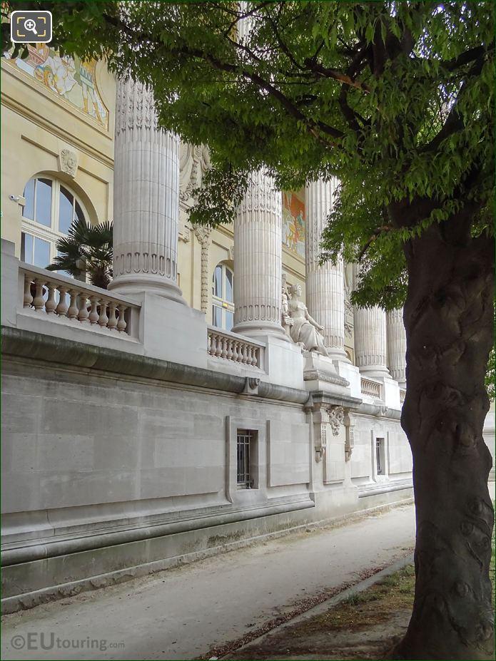 Looking Along Grand Palais East Facade