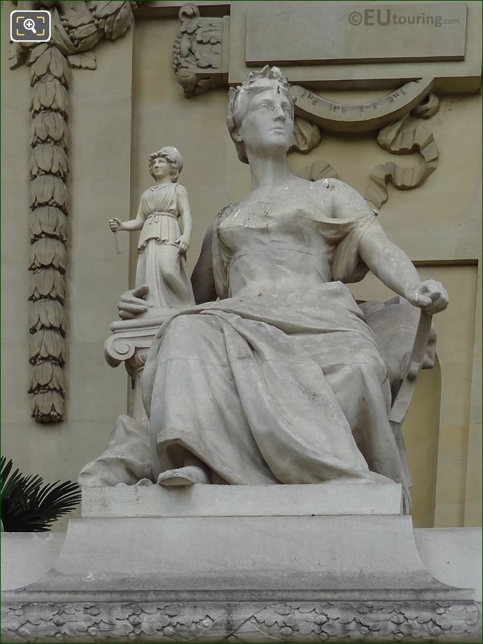 Artist Michel Beguine Statue L'Art Grec