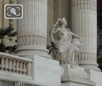 L'Art Romain Statue Grand Palais Eastern Colonnade