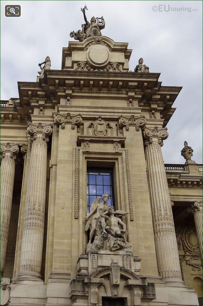 Grand Palais Columns La Paix Statue