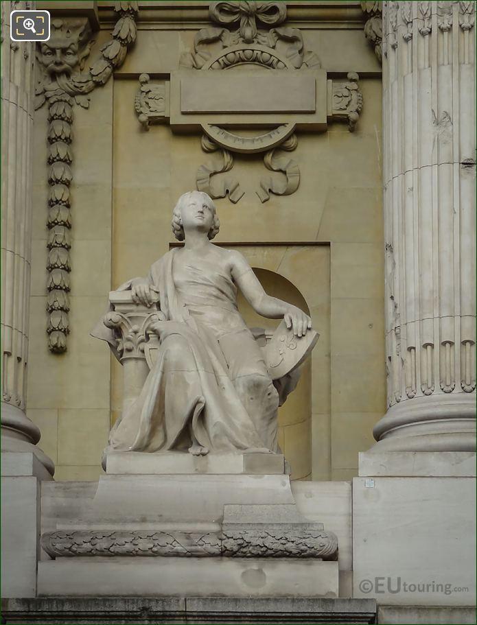 L'Art Du Moyen Age Statue Grand Palais