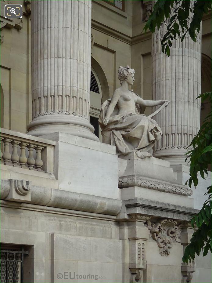 Grand Palais Allegorical Statue Contemporary Art