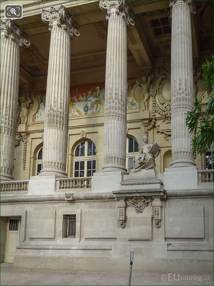 Felix Charpentier Statue L'Art Contemporain On Grand Palais