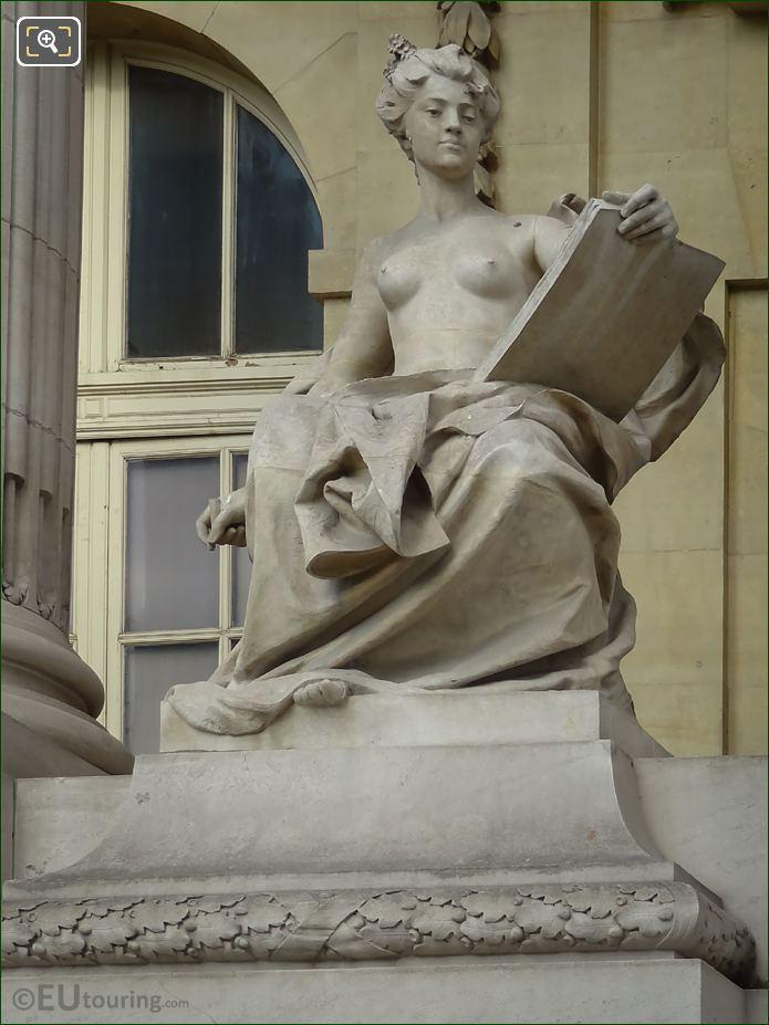 L'Art Contemporain Statue By Felix Charpentier