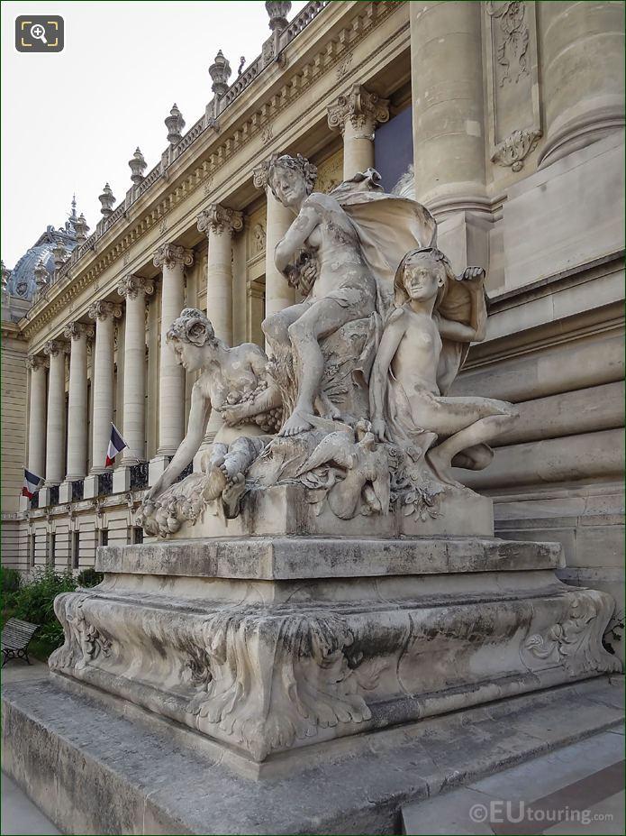Les Quatre Saisons Statue By Louis Joseph Convers