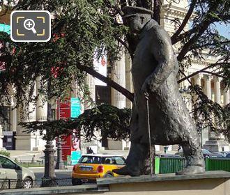 LHS Winston Churchill Statue Petit Palais