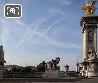 Renommee Des Arts Statue Pont Alexandre III
