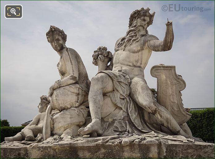 La Loire Et Le Loiret Statue By Corneille Van Cleve