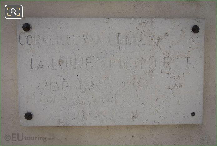 Tourist Info Plaque La Loire Et Le Loiret Statue
