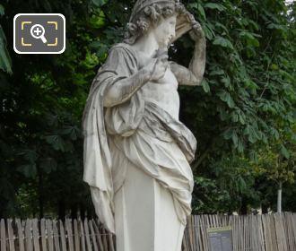 Marble Statue Vertumne In Jardin Des Tuileries