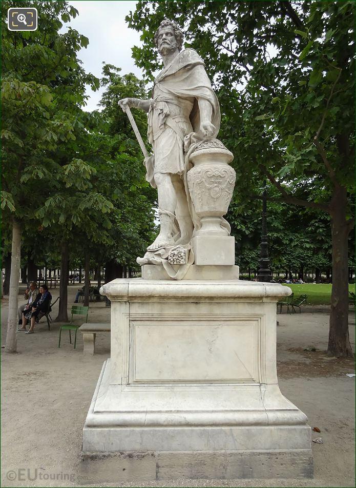 1687 Hannibal Statue Jardin Des Tuileries