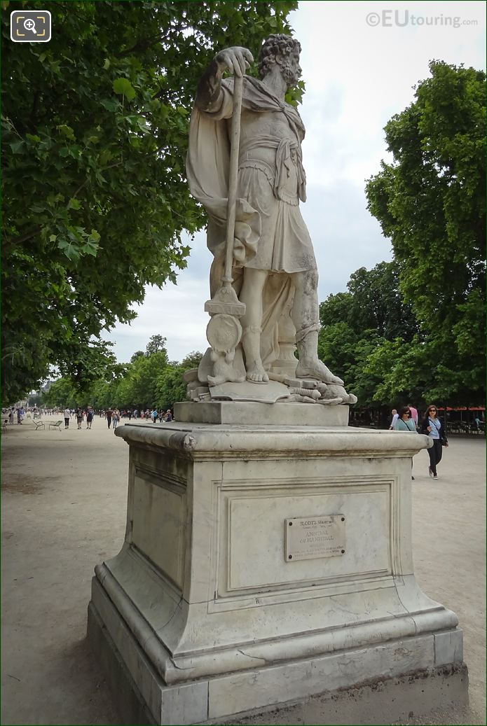 Hannibal Statue On Pedestal