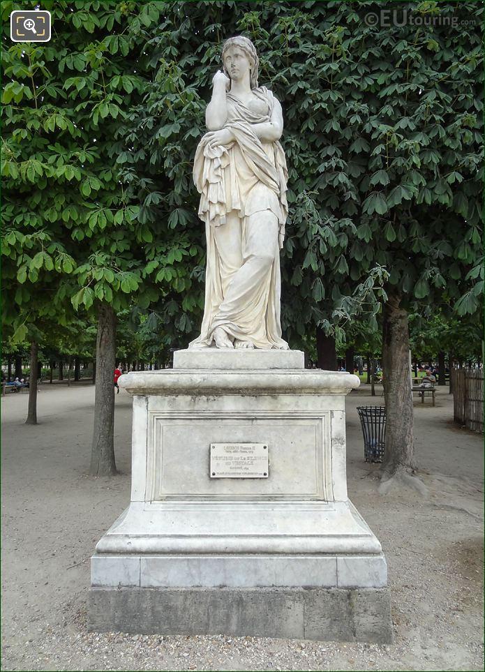 Marble Veturie Statue In Jardin Des Tuileries