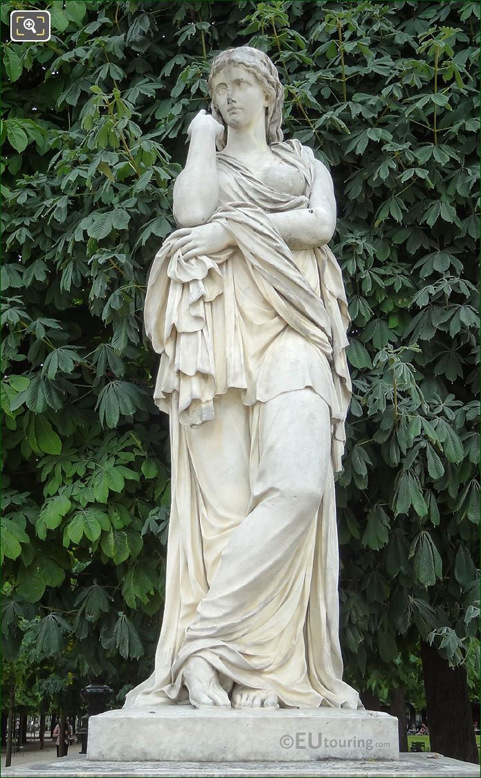 Marble Veturie Statue By Sculptor Pierre II Legros
