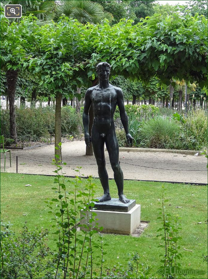 God Of Sun And Light Statue Apollo In Jardin Des Tuileries