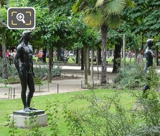 The Apollo Statue In Jardin Des Tuileries