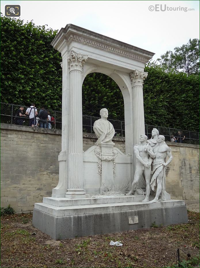 Monument To Waldeck-Rousseau By Laurent Honore Marqueste