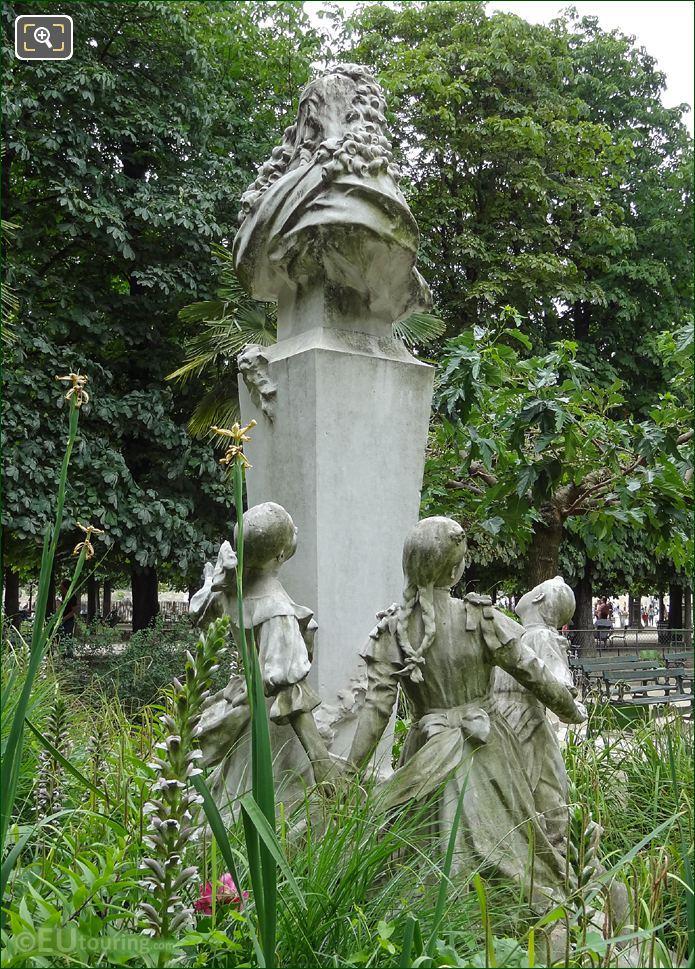 Jardin Des Tuileries Monument To Charles Perrault
