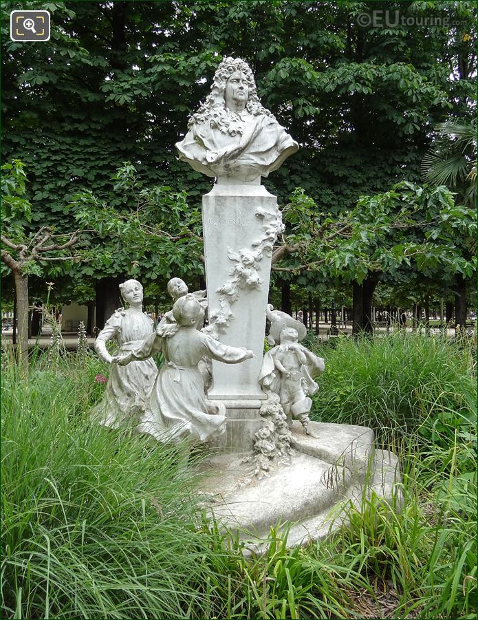 Photos of charles perrault monument in jardin des - Sculpture jardin des tuileries ...