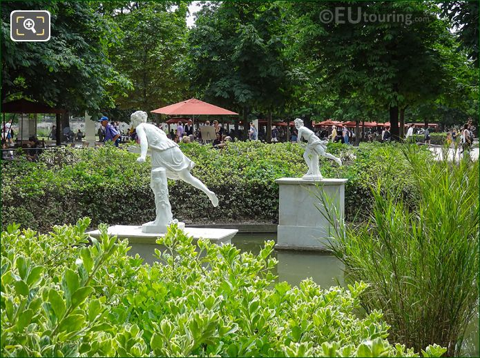 Atalante Statue Tuileries Gardens