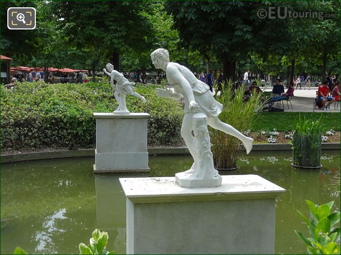 LHS Of Atalante Statue Jardin Des Tuileries