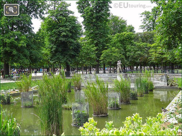 Pond And Faune Au Chevreau Statue