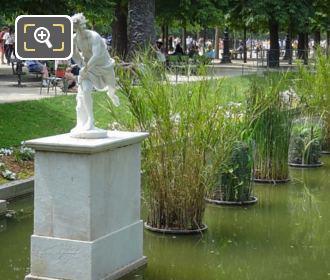 Hippomene Statue Jardin Des Tuileries