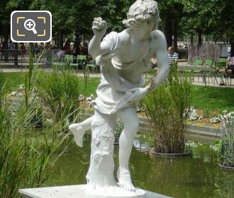 RHS Of Hippomene Statue