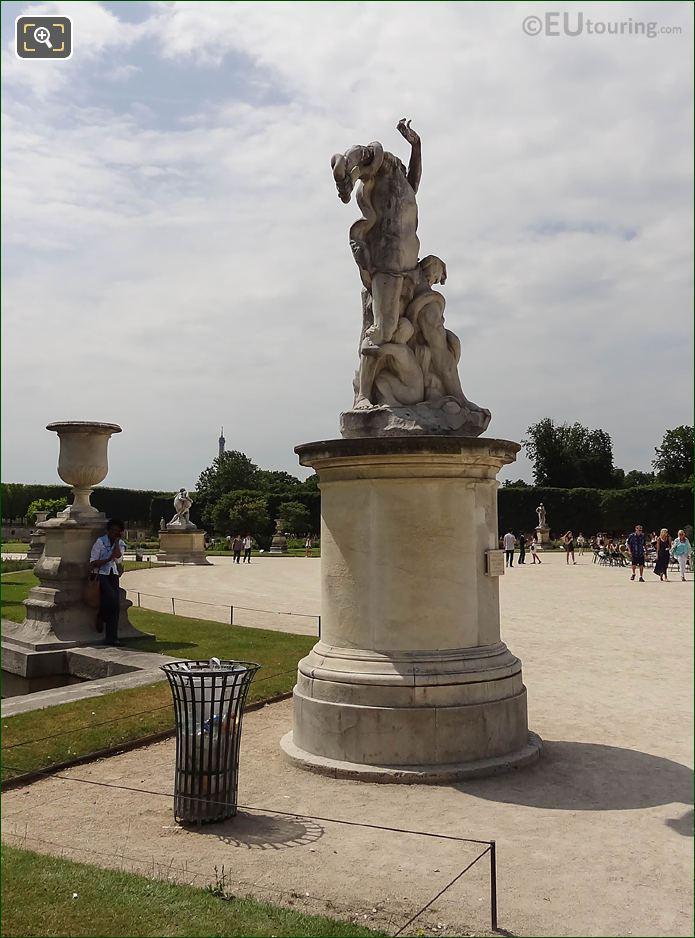 RHS Of L'Homme Et Sa Misere Ou La Misere Statue