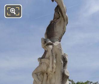 Statue Of L'Homme Et Sa Misere Ou La Misere By J B Hugues