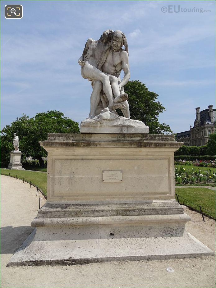 Le bon samaritain statue inside jardin des tuileries page 35 - Statues jardin des tuileries ...