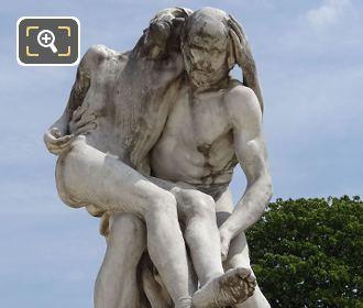 Le Bon Samaritain Statue By Sculptor Francois Sicard