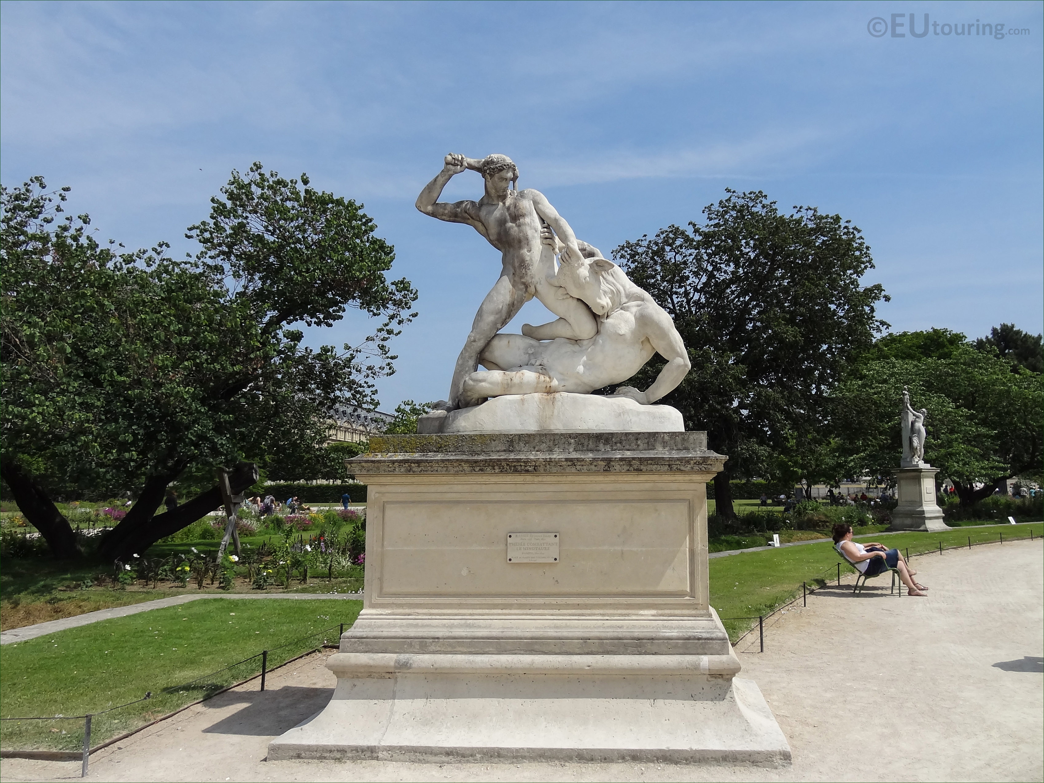 Hercules and minotaur statue in tuileries gardens page 8 - Statues jardin des tuileries ...