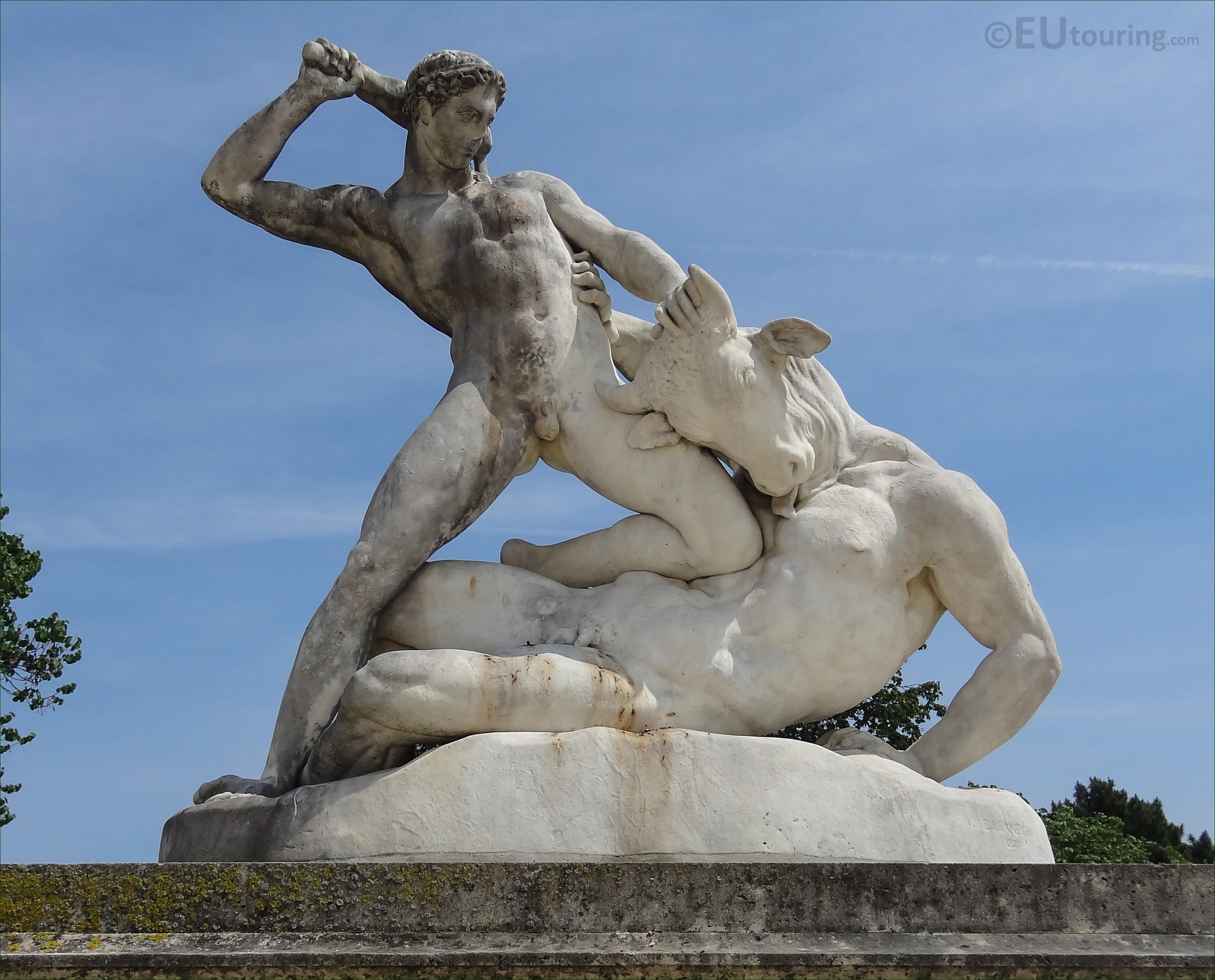Hercules and minotaur statue in tuileries gardens page 8 - Sculpture jardin des tuileries ...